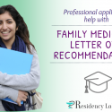 family medicine letter of recommendation