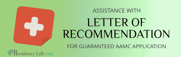 aamc letter of recommendation