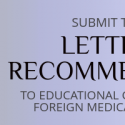 ecfmg letter of recommendation