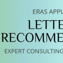 eras letter of recommendation