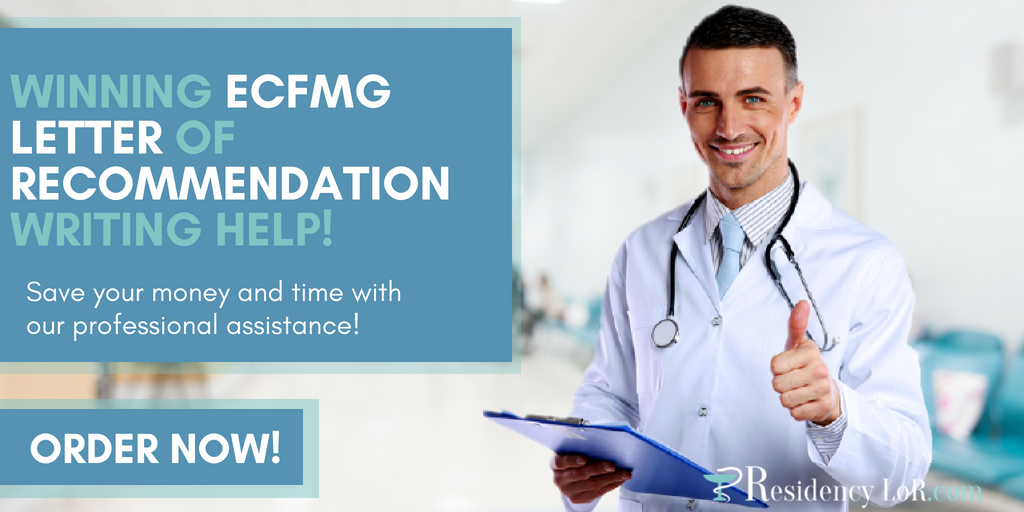 writing documents for ecfmg online application