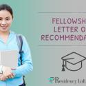 letter of recommendation for fellowship program
