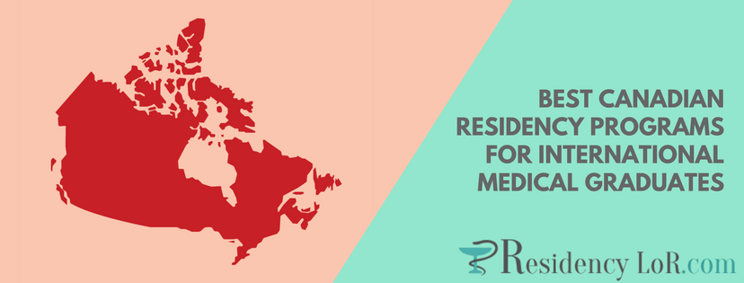 best canadian residency programs for international medical graduates