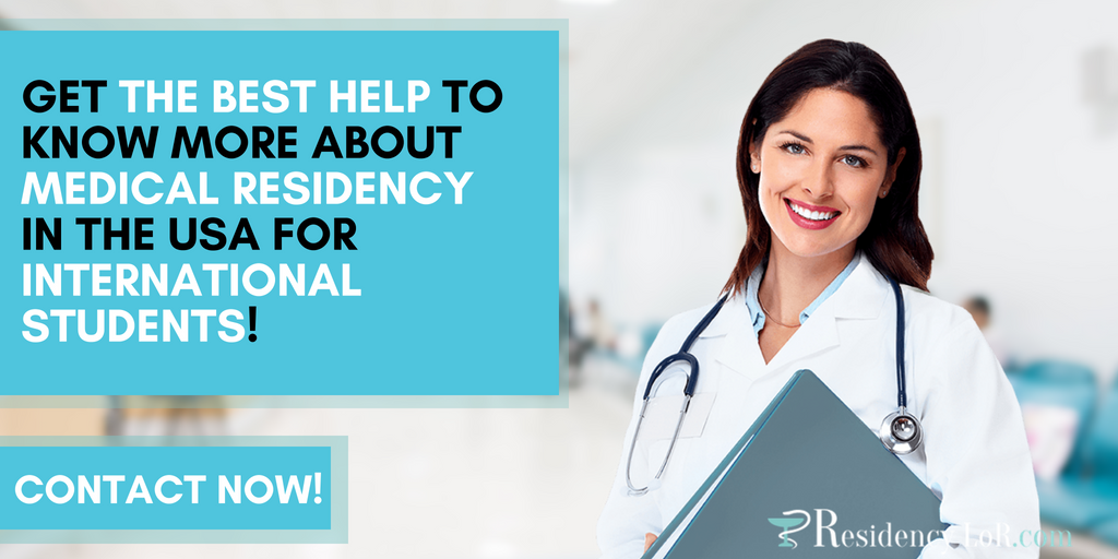medical residency for international students in usa guidelines