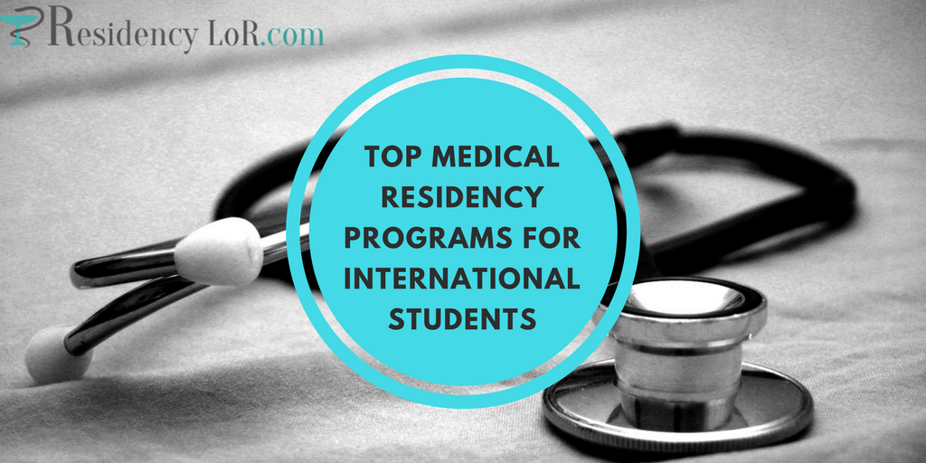 residency programs for international medical graduates