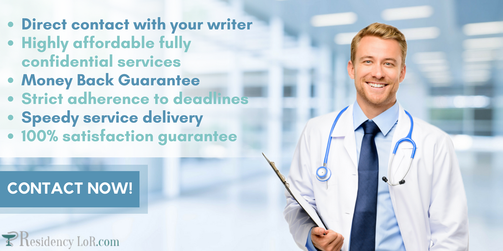 residency cv writing experts