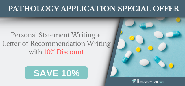 pathology letter of recommendation writing service