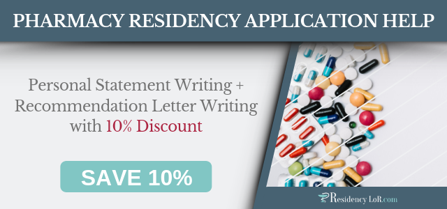 pharmacist recommendation letter writing help
